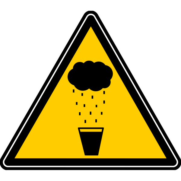 Apr1a Yellow Black Warning PNG Clip art