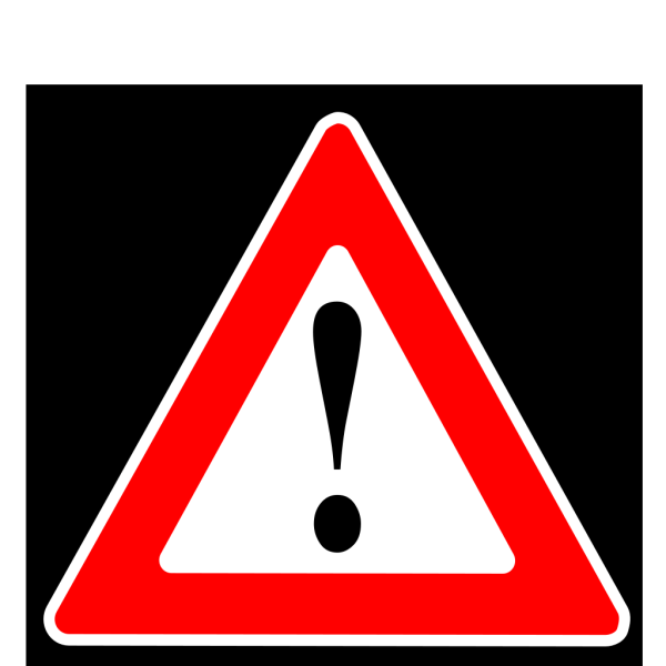 Black Box Extreme Risk Warning PNG Clip art