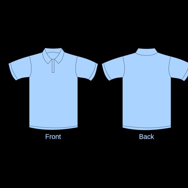 Polo Shirt Black With Zipper PNG Clip art