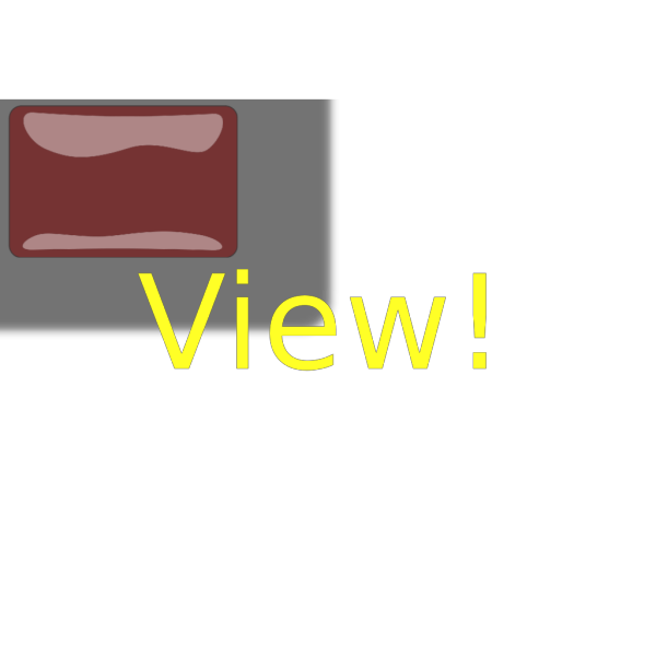 Red Rectangle View Button PNG Clip art