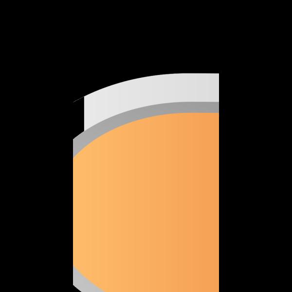Orange Button  PNG Clip art