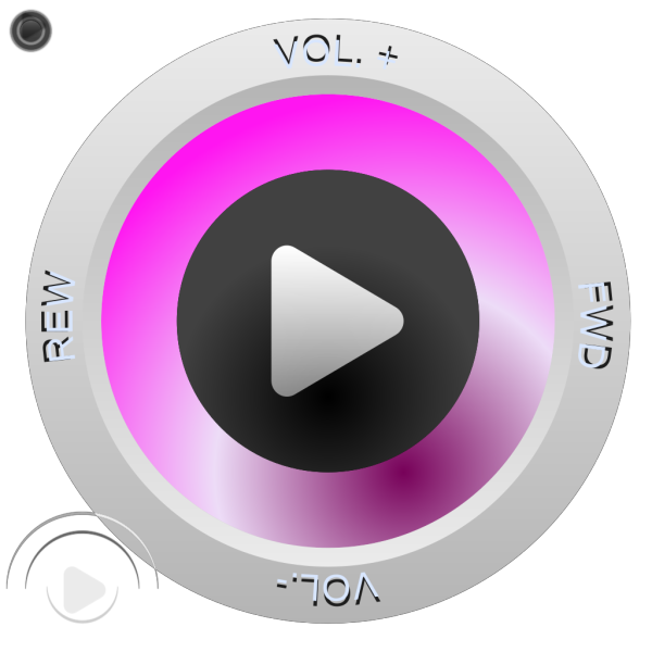 Control Buttons Play Volume Fwd Rwd PNG Clip art