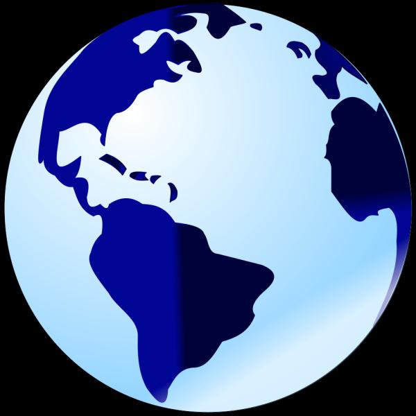 Blue Globe PNG Clip art