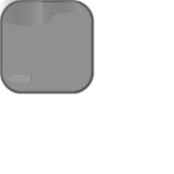 Gray Add Update Square Button PNG images