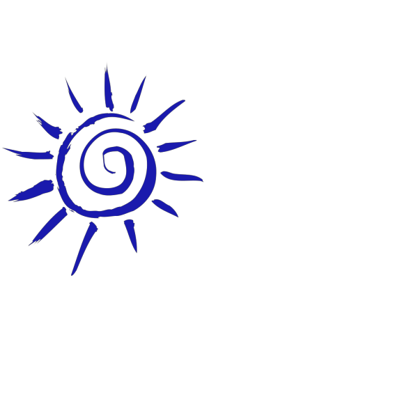 Blue light PNG icon