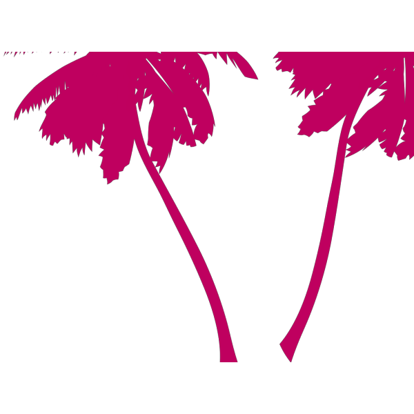 Brown Palm Trees PNG Clip art