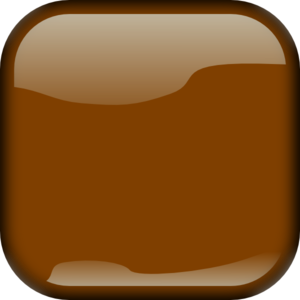 Brown Locked Square Button PNG Clip art