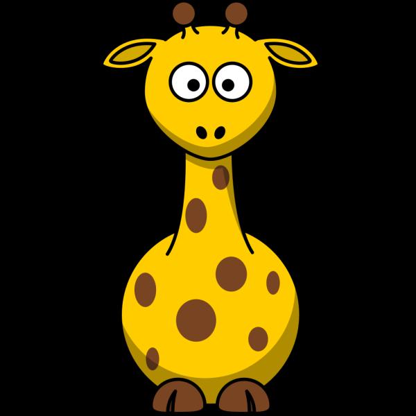 Spotted Giraffe PNG Clip art