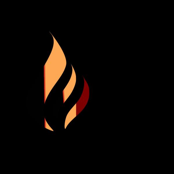R&o&y  Flame Logo PNG Clip art