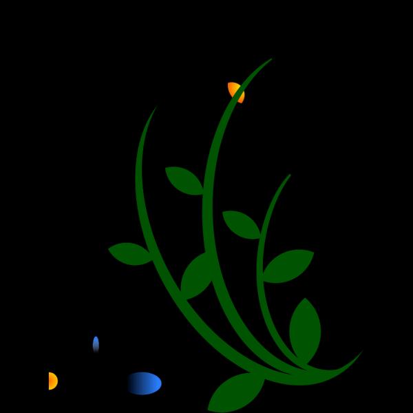 Blue Flowers PNG Clip art