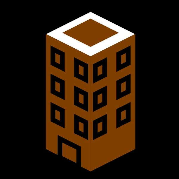 Brown Building PNG Clip art