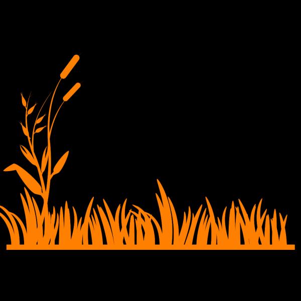 Grassy Horizon Gradient PNG Clip art