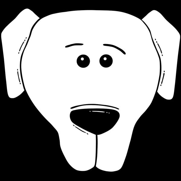 Dog Face Cartoon PNG Clip art