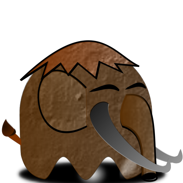 Paper Mammoth Cartoon PNG Clip art