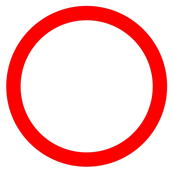 Red Circle Clip art