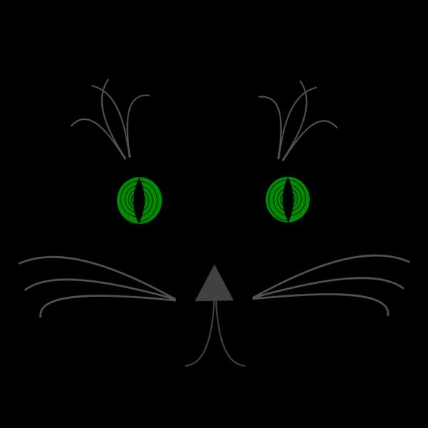 Hypno Cat PNG Clip art