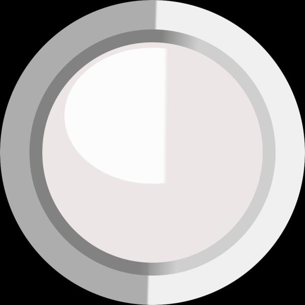 White  Led Circle PNG Clip art