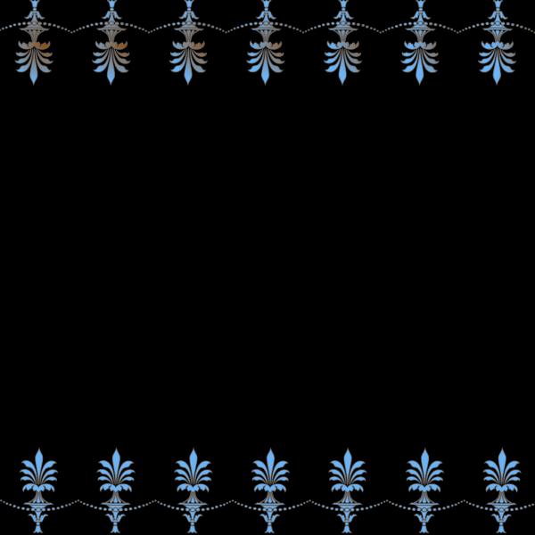 Victorian Border PNG Clip art