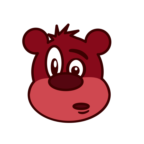 Cartoon Character Bear PNG images