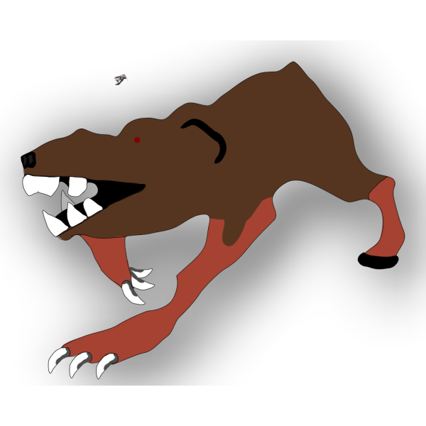 Diseased Rat PNG Clip art