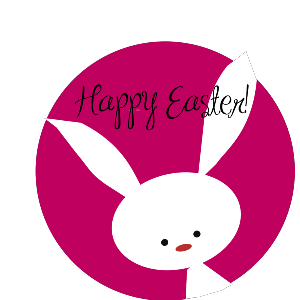 Happy Easter Bunny PNG Clip art