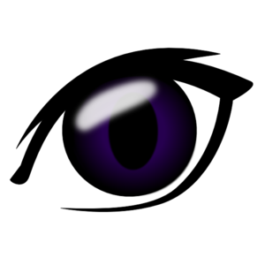 Anime Eye PNG Clip art