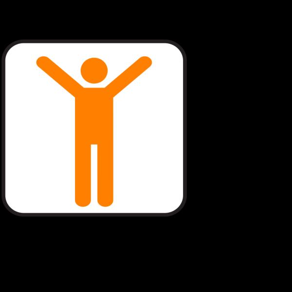 Orangeman Joy  PNG Clip art