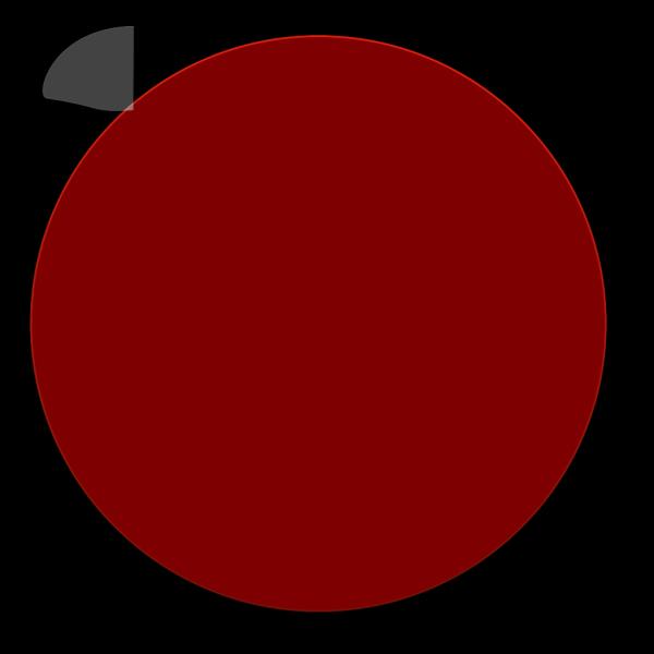 Maroon Glossy Circle PNG Clip art