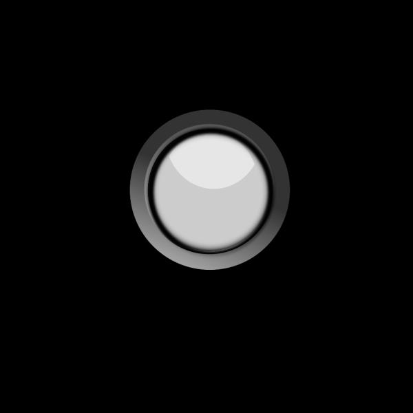 Button Black Round PNG Clip art