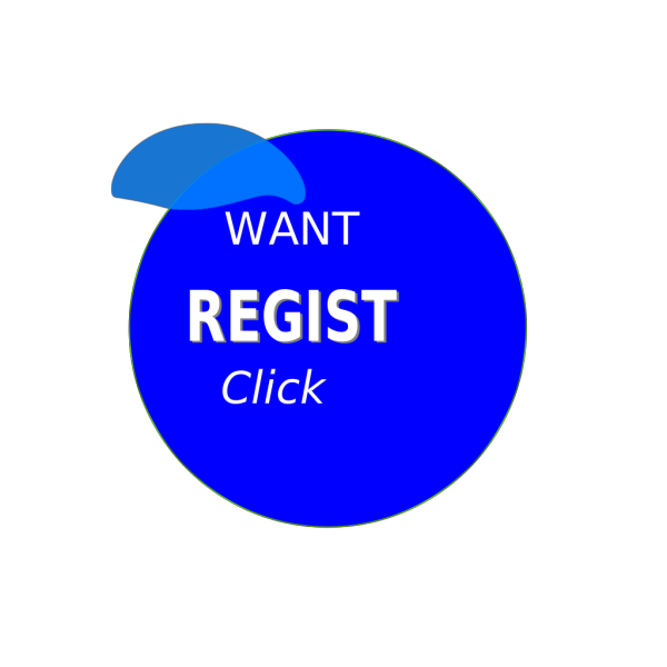 Register Button PNG Clip art