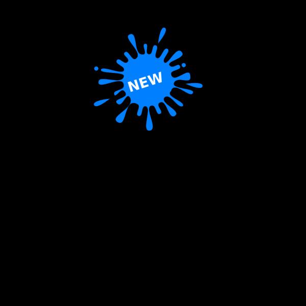 New Blue Splash Ink PNG Clip art