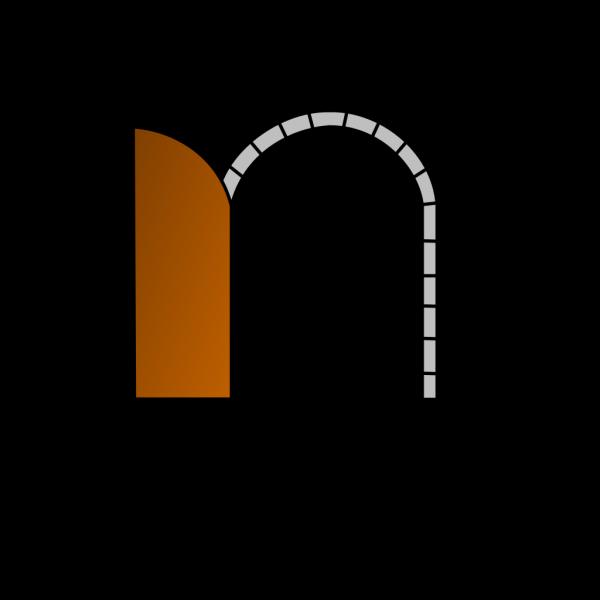 Open brown. Door png svg clip