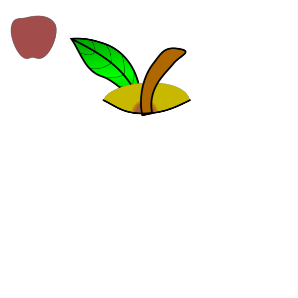 Brown Apple PNG Clip art