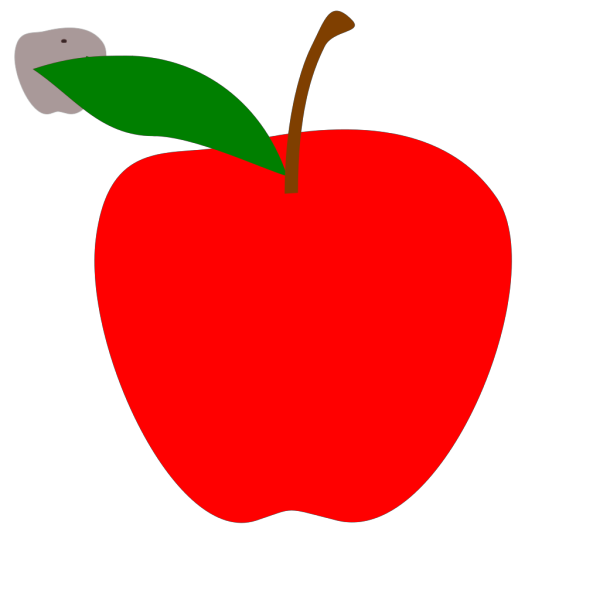 Brown Apple Edited PNG Clip art
