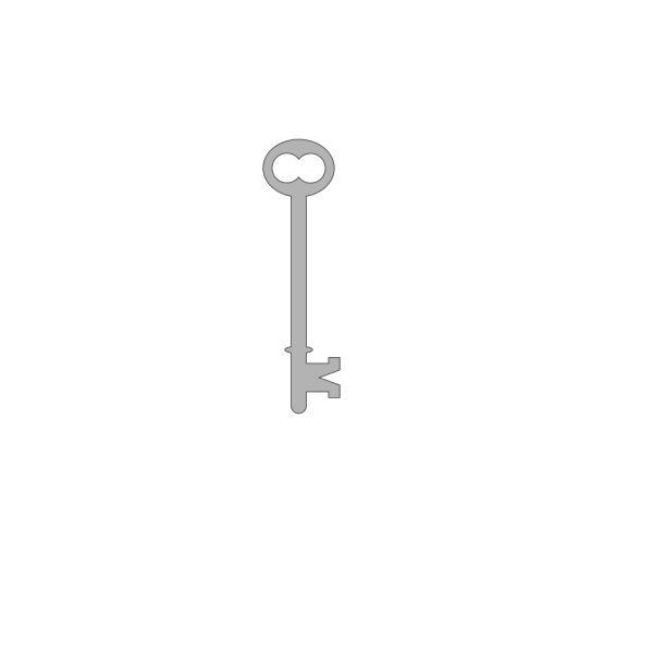 Skeleton Key PNG Clip art