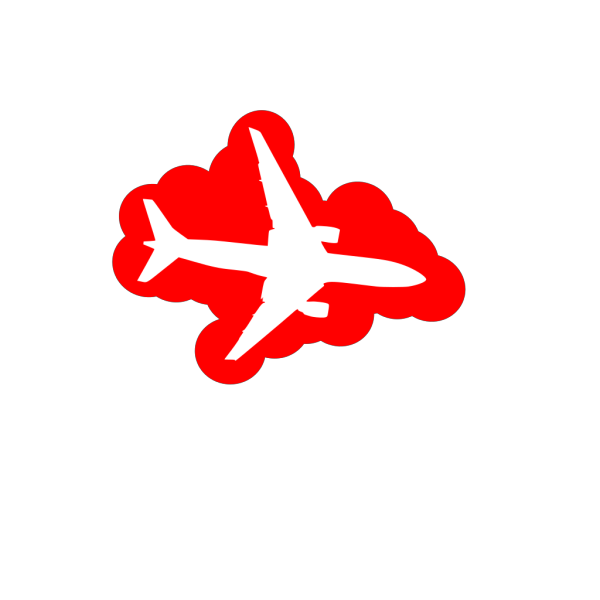 Airplane Top View PNG images