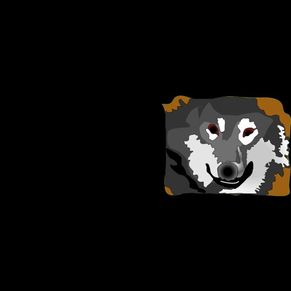 Siberian Huskey PNG Clip art