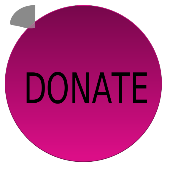 Purple Donate Button PNG Clip art