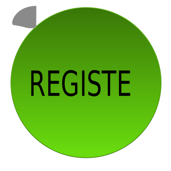 Green Register Button PNG Clip art