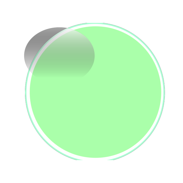 Glossy Lime Button PNG Clip art
