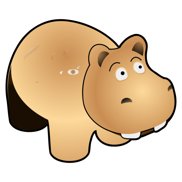 Hippo PNG Clip art