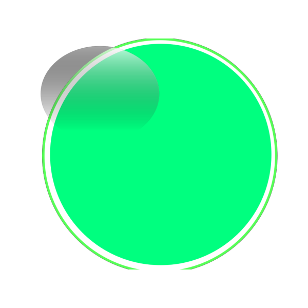 Glossy Lime 2 Button PNG Clip art