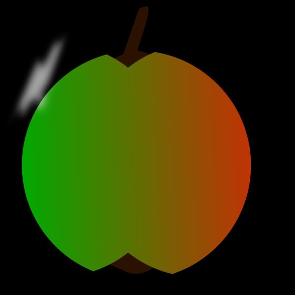 Brown Apple Tan Leaf PNG Clip art