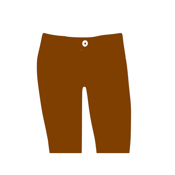 Brown Pants PNG Clip art