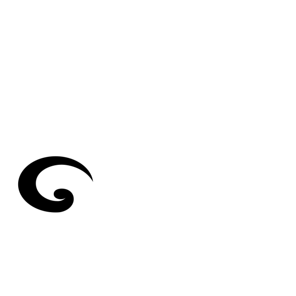 Swirl 1 In Brown PNG Clip art
