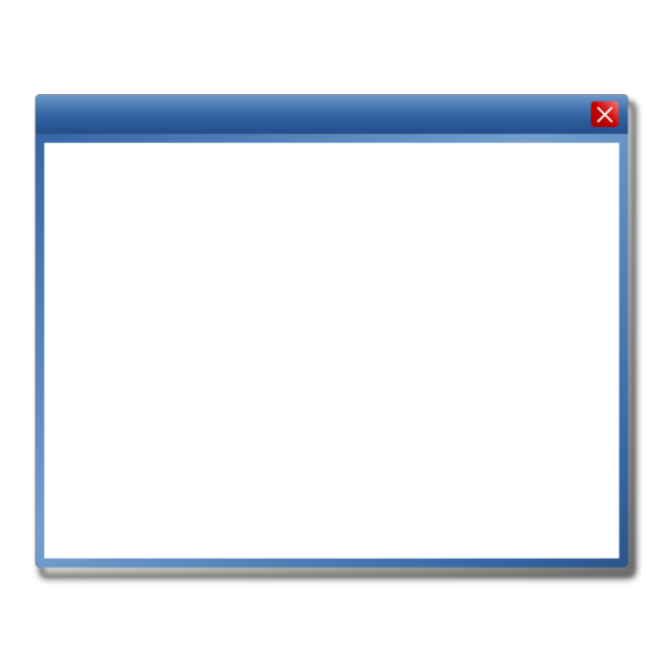 Blank Window Icon PNG Clip art
