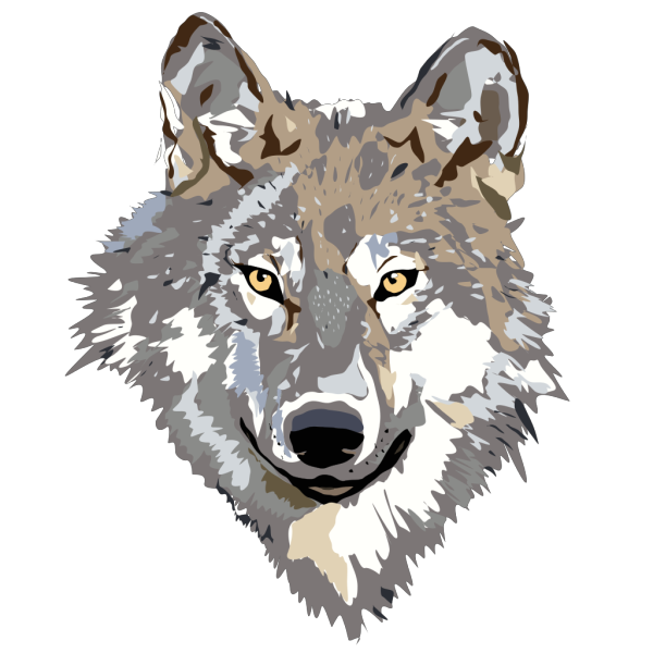 Wolf 2 PNG Clip art