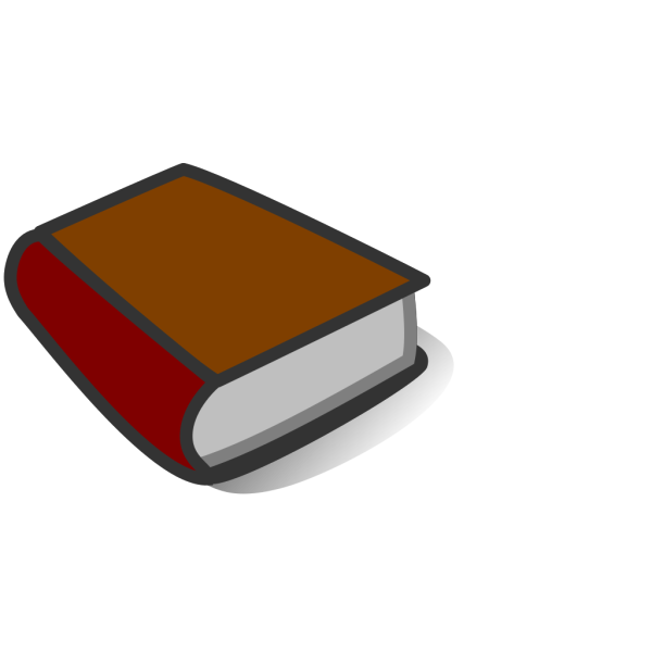 Brown Book Reading PNG Clip art
