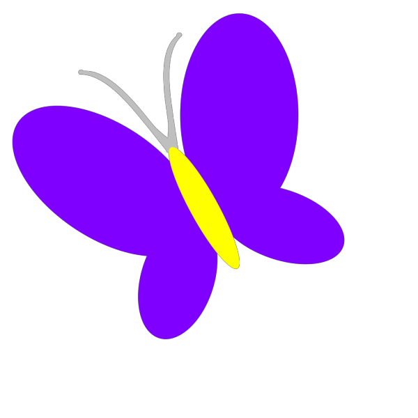 Black And Blue Butterfly PNG Clip art
