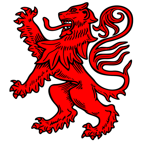 Red Lion PNG Clip art
